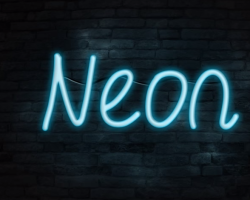 Create a Neon Text Effect