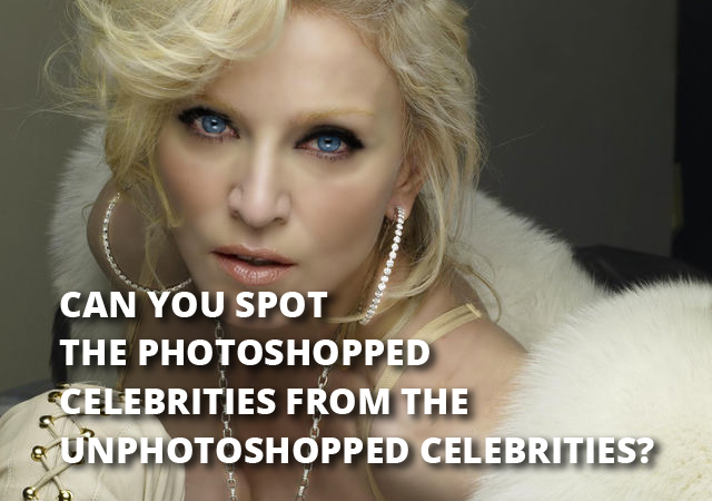 Is this Celebrity Photoshopped or not?