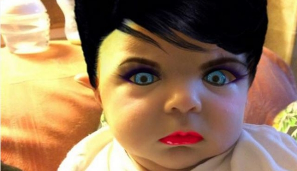 Mother Gives Her 7 Month Old Son The Photoshop Treatment, Hilarity Ensues